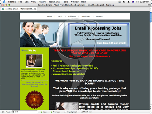 Work From Home Sending Emails - Email Sending Jobs Training