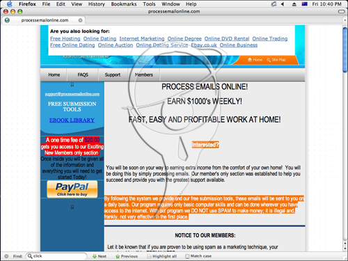 Process emails online! Earn $1000's weekly! Fast, easy and profitable work at home!