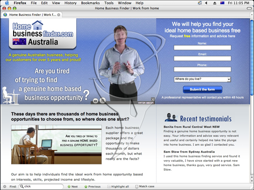 Home Business Finder - let us find you the ideal work from home opportunity based on interests, skills, projected income and lifestyle