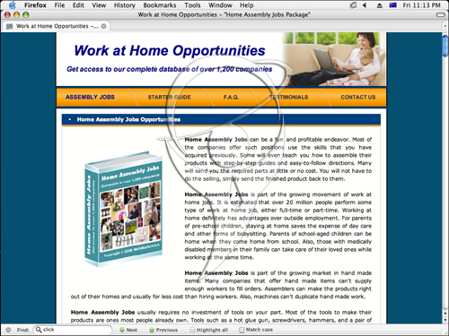 Work at Home Opportunities - Get access to our complete database of over 1,200 companies