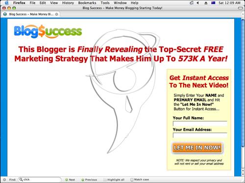 Blog Success - Make Money Blogging Starting Today!
