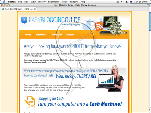 Easy Blogging Guide - Make Money Blogging - Are you looking for a way to profit from what your know?