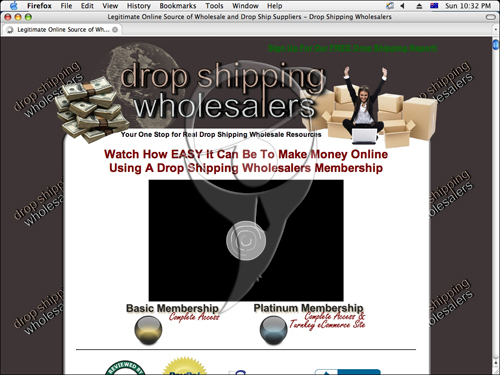Watch How EASY It Can Be To Make Money Online Using A Drop Shipping Wholesalers Membership.