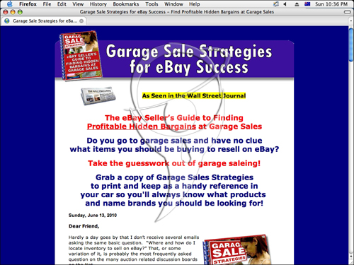 The eBay Seller's Guide to Finding Profitable Hidden Bargains at Garage Sales