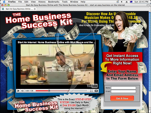 The Home Business Success Kit