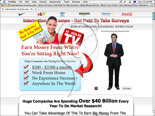 Earn money from where you're sitting right now!