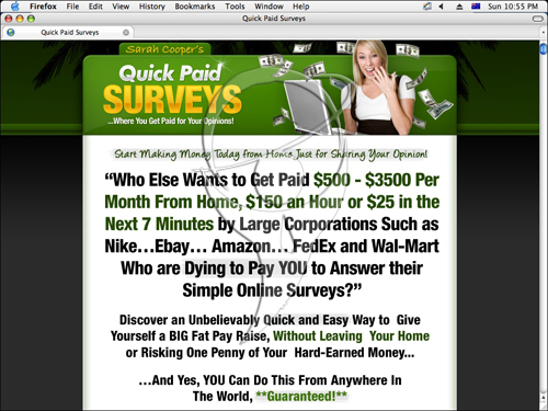 Who else wants to get paid $500 - $3500 per month from home, $150 an hour or $25 in the next 7 minutes.