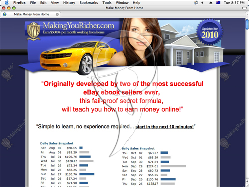 Making you richer - Earn $5000+ per month working from home