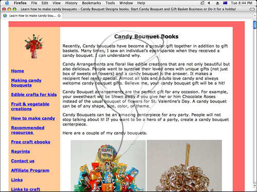 Start Your Own Home Based Candy Bouquet Business.