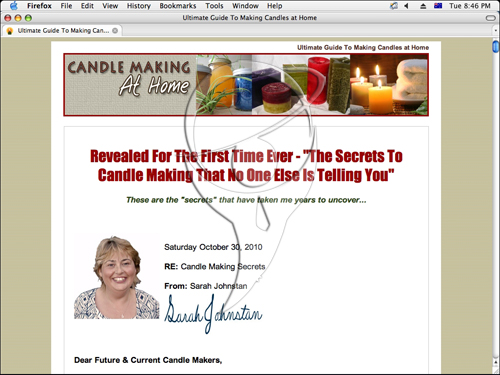 Secrets to Operating a Successful Candle Making