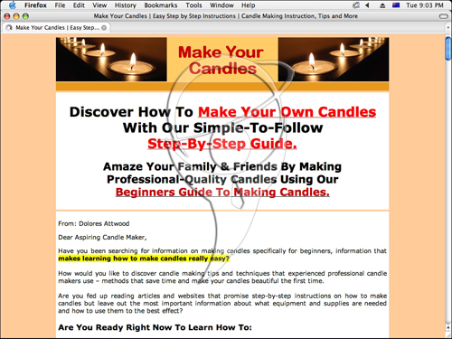 How to Make Candles - Step-by-Step Instructions