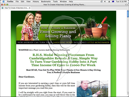Your Gardening Hobby Can Earn $4000/Month.