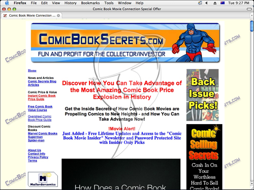 Comic Book Secrets