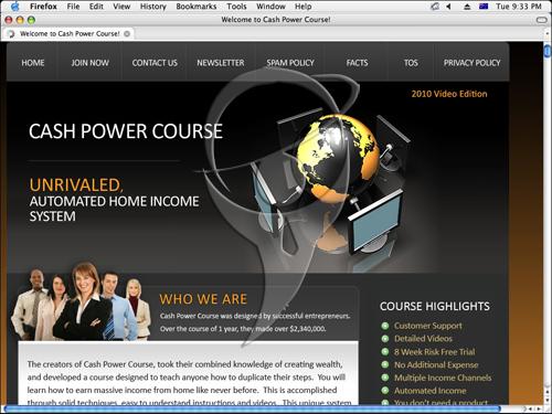 Cash Power Course - Video Edition