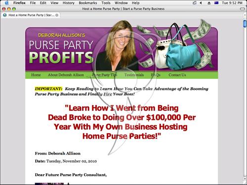 Purse Party Profits
