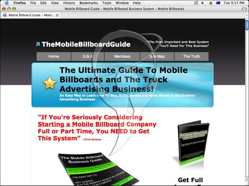 The Mobile Billboard Guide