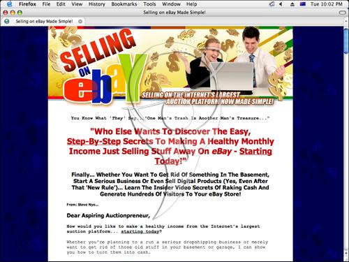 Selling eBay(r) Made Simple...
