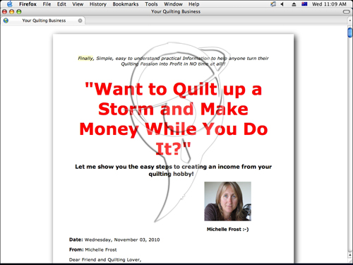 Mega Quilting Business Package