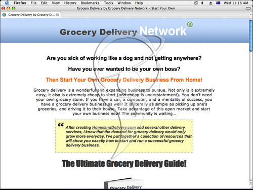 Grocery Delivery Decoded - Home Grocery Delivery Start Up Package