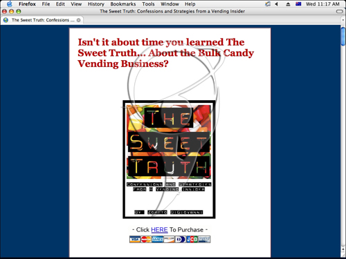 The Sweet Truth - Confessions and Strategies from a Vending Insider