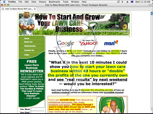 How To Start, Grow and Run a Profitable Lawn Care Business