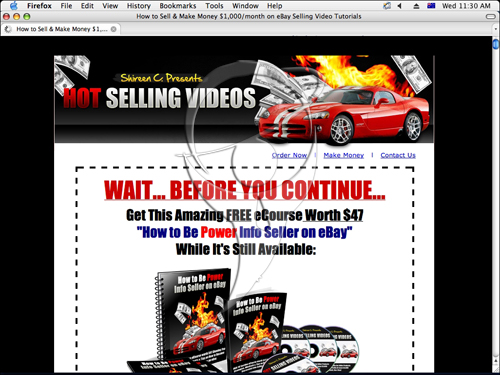 Make $1,000/m on eBay(r)Selling Videos