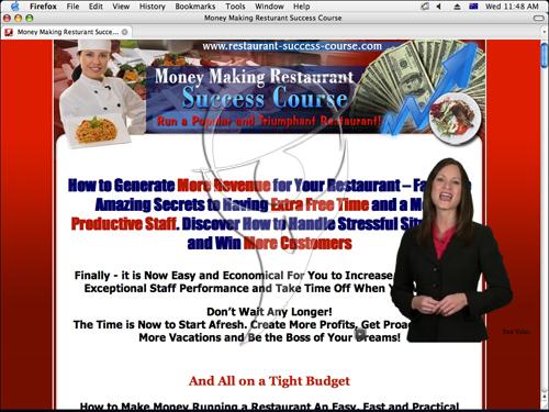 Money Making Restaurant Success Course