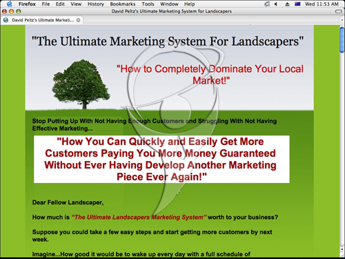The Ultimate Marketing System for Landscapers