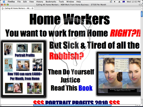 Home Based Money-Making Portraits Business