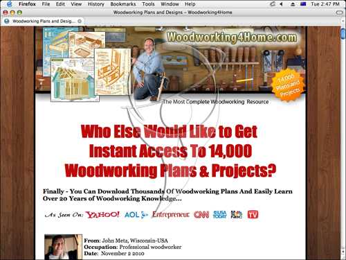 Woodworking Money Makers - 14,000 Woodworking Plans