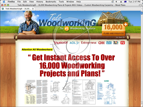 Woodworking Projects That Make Money - 16,000 Woodworking Projects and Plans!