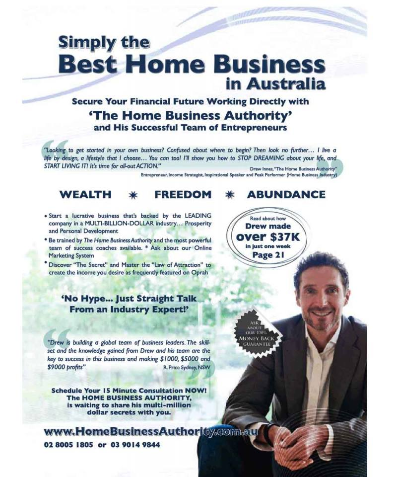 Simply the Best Home Business In Australia