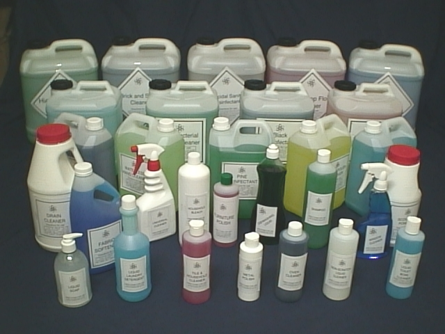 You can now make a fortune manufacturing high demand cleaning products!!!